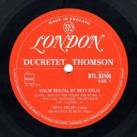GB LON(DUCRETET THOMSON) DTL9310…
