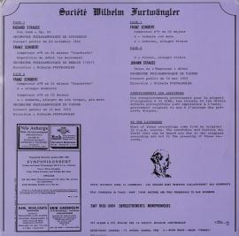 FR SWF SFW8403-4 フルトヴェングラー R. シュトラ…