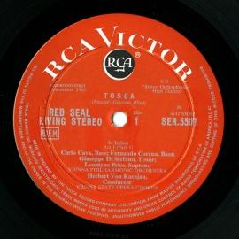 GB RCA SER5507-8 カラヤン プッチーニ・トスカ(全曲)