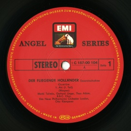 DE EMI 1C157 00 104/6 クレンペラー ワーグナー…