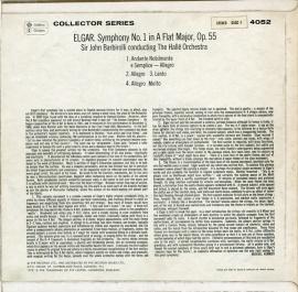 GB PYE GSGC4052バルビローリ エルガー・交響楽…
