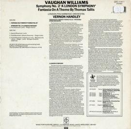 GB EMI CFP41 4411 1ハンドレイ ウィリアム…