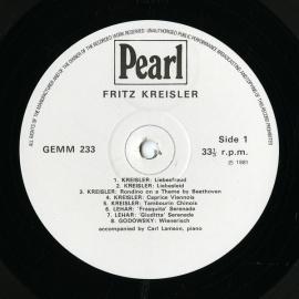 GB Pearl GEMM233クライスラー PLAYS E…