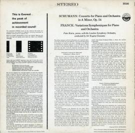 US EVE SDBR3036ケイティン シューマン・ピアノ…