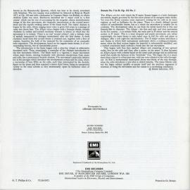 GB EMI SLS836トルトリエ&ハイドシェック ベート…