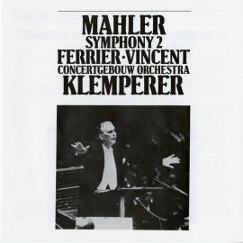NL  DEC  D264D2 クレンペラー  マーラー・交響曲2番…