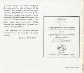 FR VSM  FALP30064 ジョルジュ・シフラ リスト・ハン…