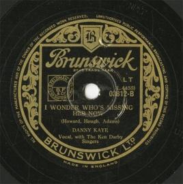 【SP盤】GB BRUNSWICK 3812 DANNY KAYE …