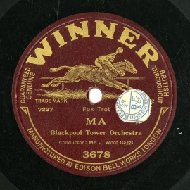 【SP盤】GB WINNER 3678 J.WOOF GAGGS MA / UNCLE SAMBO